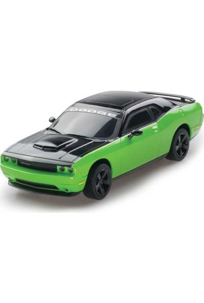Kidztech 1:26 Uzaktan Kumandalı Dodge Challanger Işıklı Araba Yeşil