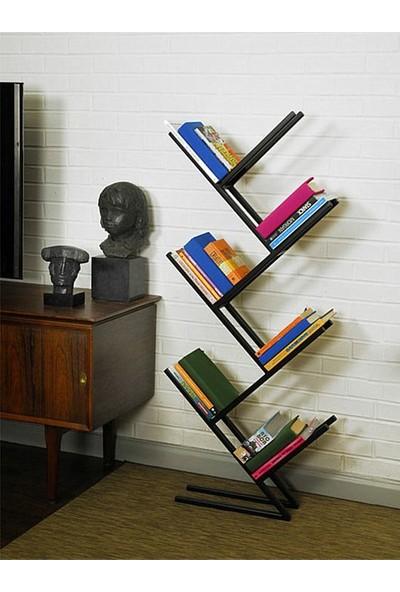 Metal Kitaplık Çapraz Tasarım Kitaplık Modelleri Kitaplık Raf Siyah Kitaplık