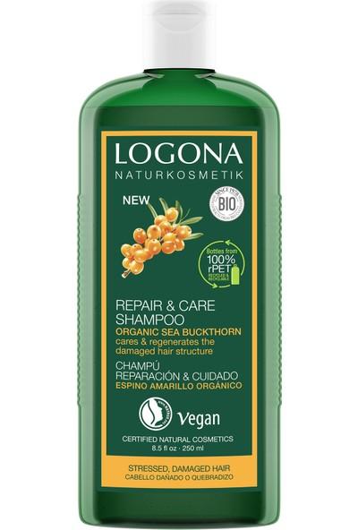 Logona Onarıcı ve Bakım Şampuanı - Organik Yabani Iğde Özlü 250ML