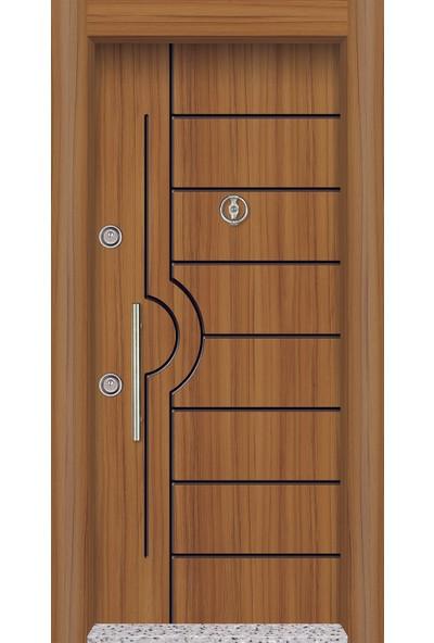 Mono Çelik Kapı MN-1809 Classic Laminoks Meşe Çelik Kapı