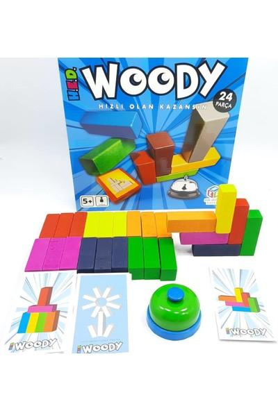 Hed Woody Ahşap 3 Boyutlu Geometrik Zeka Oyunu