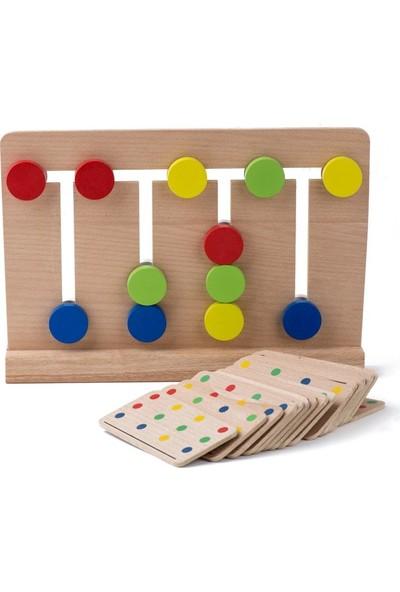 HED Four Color 2'li Eğitici Oyun Seti