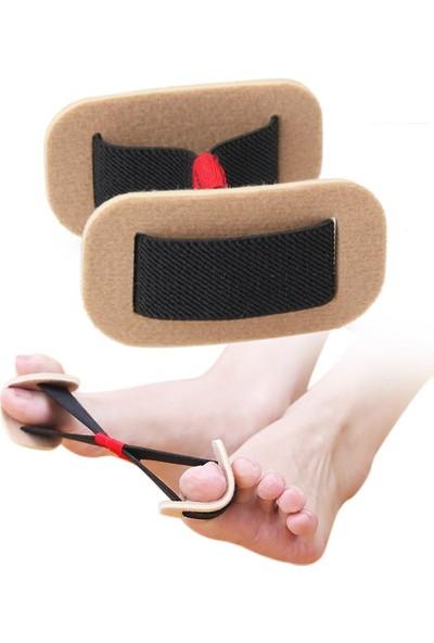 Jetfast Ayak Baş Parmak Egzersiz Lastiği Ayak Baş Parmak Kemik Bunyon Koruyucu Önleyici Alet