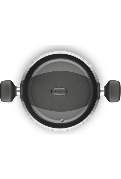 Tefal B3017112 Extra 26 cm Thermo-Spot Teknolojili Yapışmaz Kısa Tencere [ Siyah ]- 2100096741