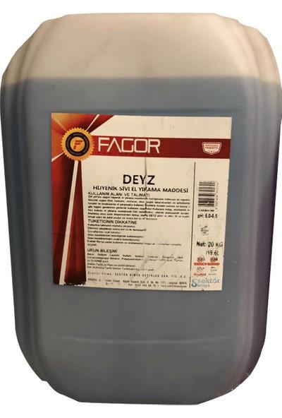 Fagor Deyz 920 Kokusuz Hijyenik Sıvı El Yıkama Maddesi 20 kg
