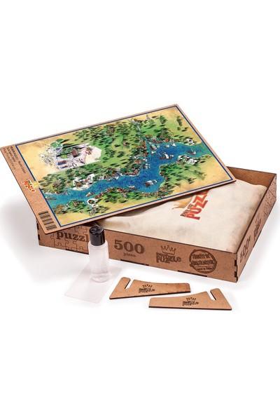 King Of Puzzle Boğaziçi - Nusret Çolpan Ahşap Puzzle 500 Parça
