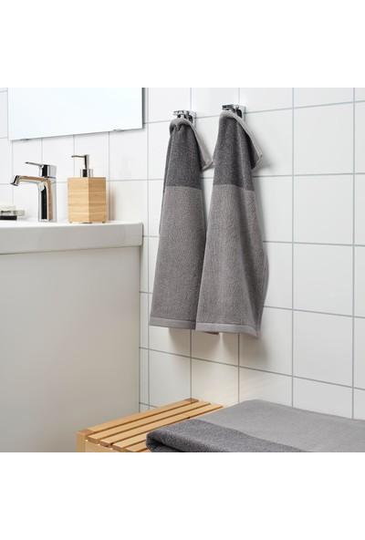 IKEA Hımlean El Havlusu Koyu Gri-Melanj 30 x 50 cm