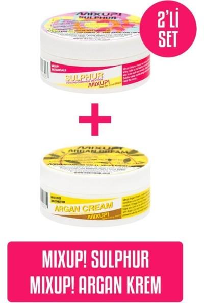 Mixup Sulphur 56 G X Argan Krem 65 ml 2'li Set