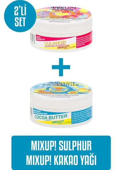 Mixup Sulphur 56 gr X Kakao Yağı 56 gr 2'li Set
