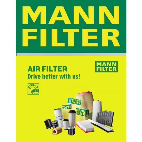 Mann Opel Movano Combi 2.2 Dti 1998-2006 Mann-Filter Hava Filtresi