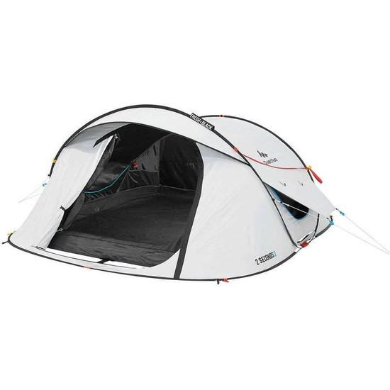 Quechua Fresh&black Çadır 3 Kişilik Kamp Çadırı Meridyendukkan 2 Saniyede Kolay Kurulum