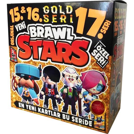 Brawl Stars 15. 16. ve 17. Seri Gold Seri Yeni ve Özel Kartlar Gold Seride ( 400 Kart )