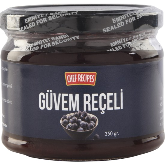 Chef Recipes Güvem Reçeli 300 gr