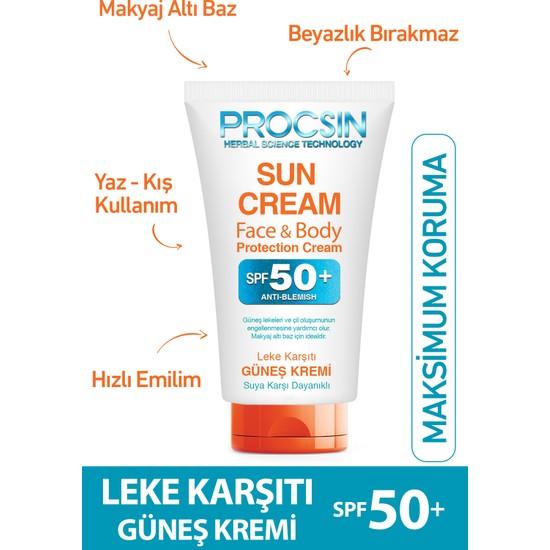 Procsin Yüz Koruyucu Faktör 50+ Güneş Kremi 50 ml