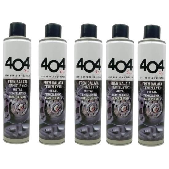 404 Balata Temizleme Spreyi 500 ml x 5'li