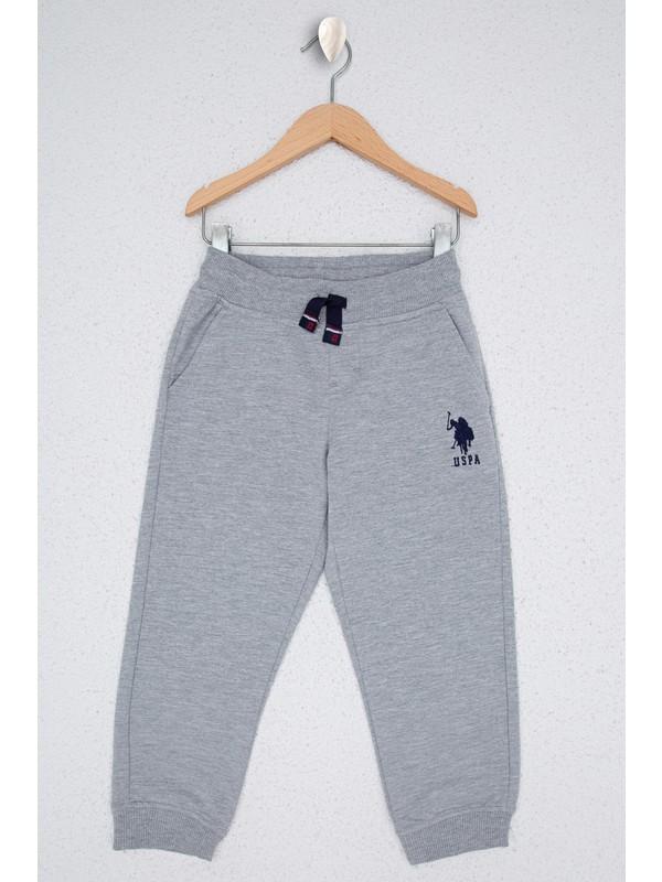 U.S. Polo Assn. Erkek Çocuk Gri Örme Pantolon 50232542-VR086