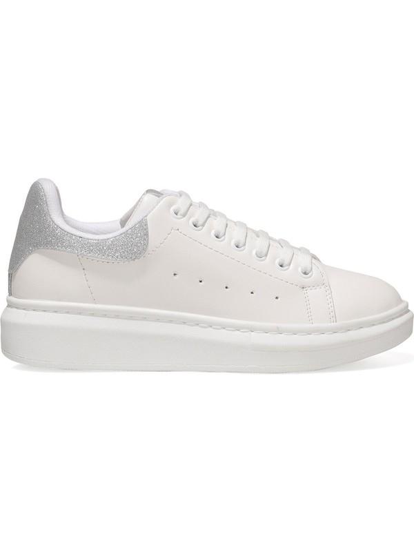 Nine West Heresa 1fx Gümüş Kadın Fashion Sneaker