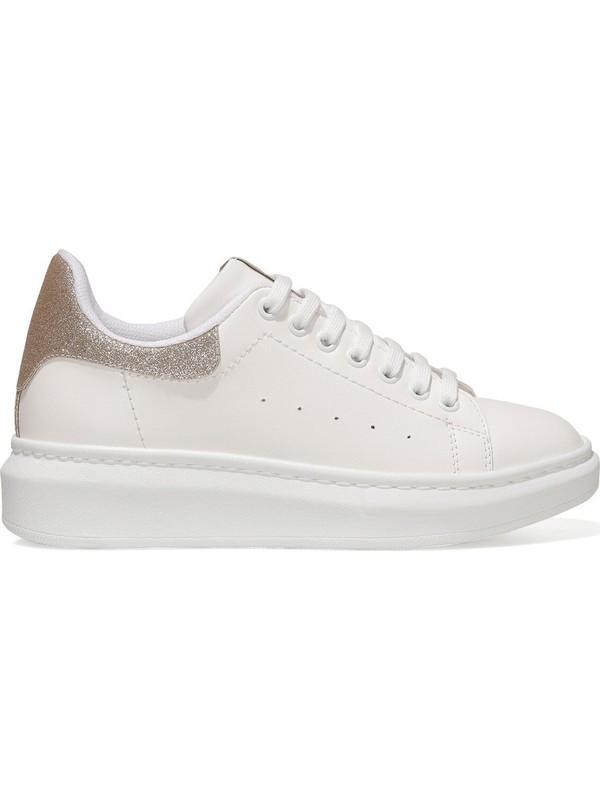 Nine West Heresa 1fx Altın Kadın Fashion Sneaker