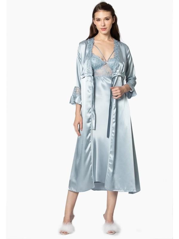 Pierre Cardin Kadın Çeyizlik Altılı Pijamalı Takım 6025