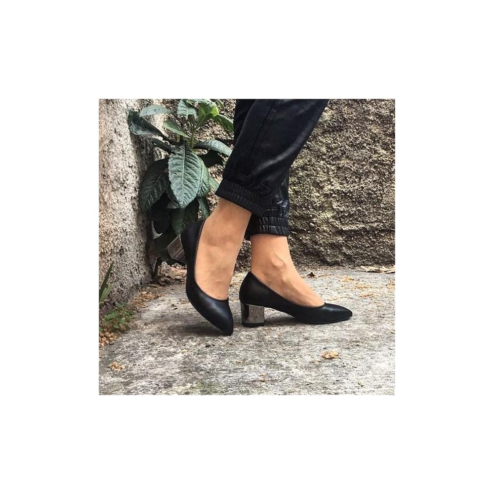 Shop and Shoes 155-0150 Siyah Kadın Ayakkabı