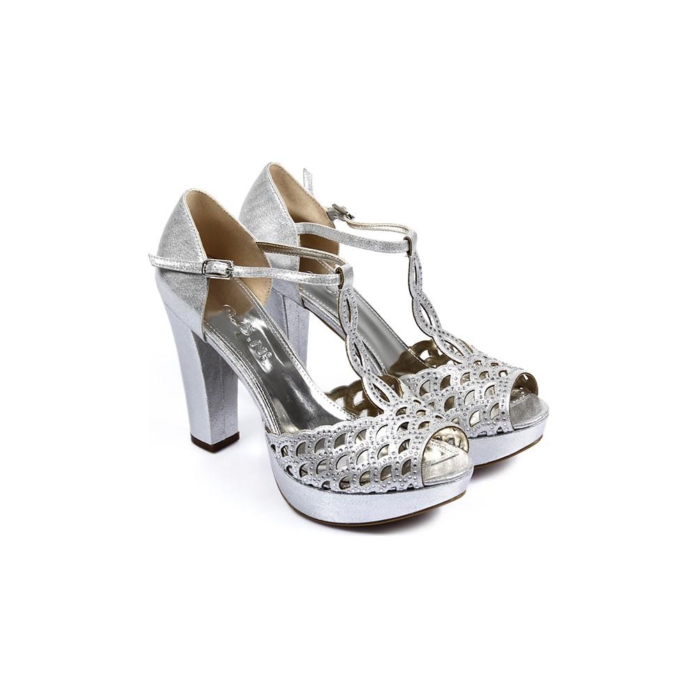 Gön 94755 Gümüş Kadın Sandalet