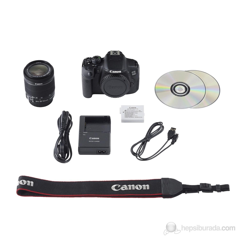 Canon Eos 700D 18-55 IS STM DSLR Fotoğraf Makinesi Fiyatı
