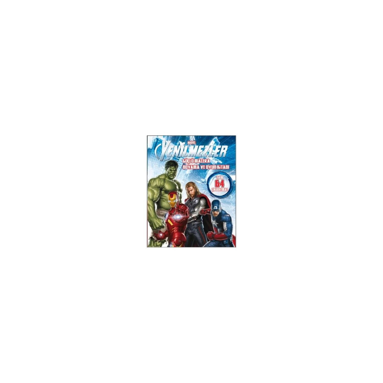 Marvel Yenilmezler Güçlü Macera Boyama Ve Oyun Kitabı Fiyatı
