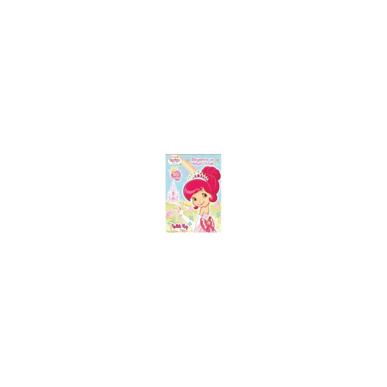 çilek Kız Işıltılı Kız Boyama Ve Faaliyet Kitabı Kolektif Fiyatı