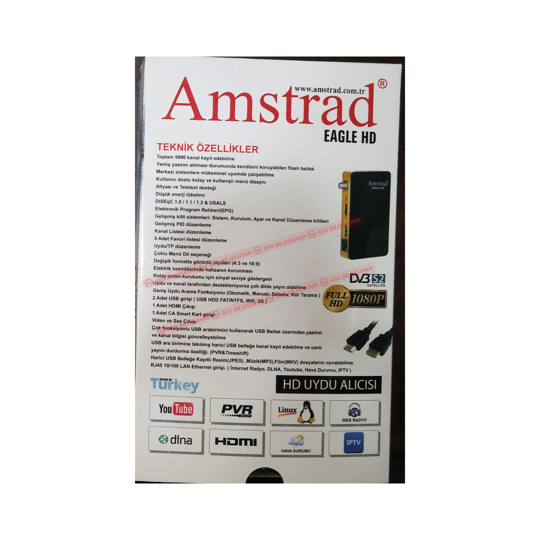 Amstrad Eagle Hd + Iptv Uydu Alıcısı Fiyatı - Taksit Seçenekleri