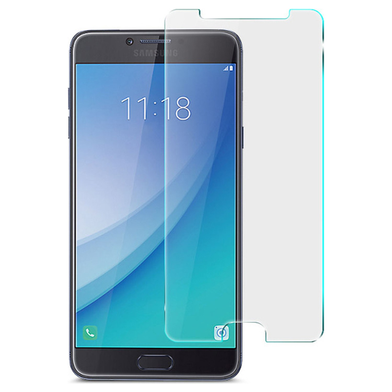 Microsonic Samsung Galaxy C7 Pro Temperli Cam Ekran koruyucu film ‹ › Kapat