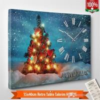 Tabloshop - Yılbaşı Özel Saat - Yb-03 - 45X30cm - Takvim Hediye