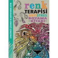Antistres Boyama Kitabı: Renk Terapisi