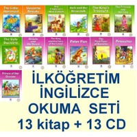 İlköğretim İngilizce Okuma Seti (13 Kitap +13 CD)