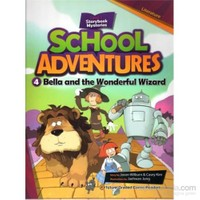 Bella And The Wonderful Wizard + Cd (School Adventures 2)-Jaehwan Jung