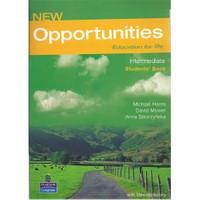 Longman Yayınları New Opportunities Education For Life Intermediate Students Book