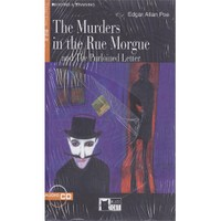Cideb Yayınları The Murders İn The Rue Morgue And The Purloined Letter Edgar Allan Poe Step 5+Cd Black Cat
