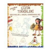 Çocuklar İçin Çizim Teknikleri-2: Hayvanlar Ve Masal Kahramanları-Rosa M. Curto