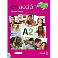 En acción A2 Libro del alumno (Ders Kitabı +CD) İspanyolca Orta-alt Seviye