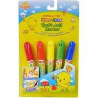 Dong - A Kuru Ve Sulu Boyayınlarıa Uygun 5 Renk Jel Pastel Boya 239406