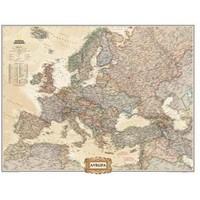 National Geographic Avrupa Haritası