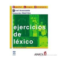 Ejercicios de léxico - Nivel Avanzado (İspanyolca kelime bilgisi – ileri seviye)