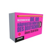 Redhouse Die 100 Haufigsten Wörter Des Deutschen 3 (Almanca Dil Kartları)-Kolektif