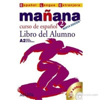 Mañana 2 Libro del Alumno A2 +CD (İspanyolca orta-alt Seviye Ders Kitabı +CD)