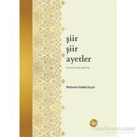 Şiir Şiir Ayetler-Amme Cüzü Çevirisi