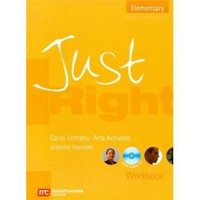 Just Right Elementary Workbook + Cd - Jeremy Harmer