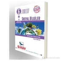 Sınav Dergi 6.Sınıf Sosyal Bilgiler Konu Anlatımlı-Kolektif