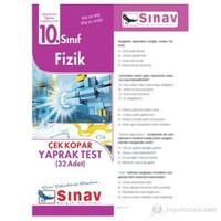 Sınav Dergisi Fizik Yaprak Test (32 Adet)-Kolektif