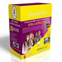 KPSS A İktisat Görüntülü Eğitim Seti 46 DVD + Rehberlik Kitabı
