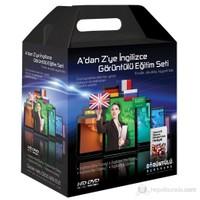 A'dan Z'ye İngilizce Görüntülü Eğitim Seti Tüm Seviyeler 55 DVD