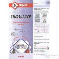Metot 5. Sınıf İngilizce Konu Değerlendirme Testleri
